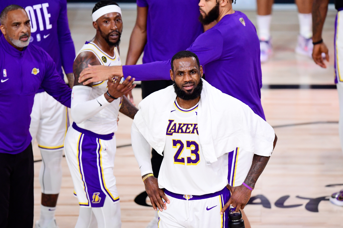 """LeBron James wasn't happy with a youth football coach recently. He even said he would have had """"more than words"""" with him if he were there."""
