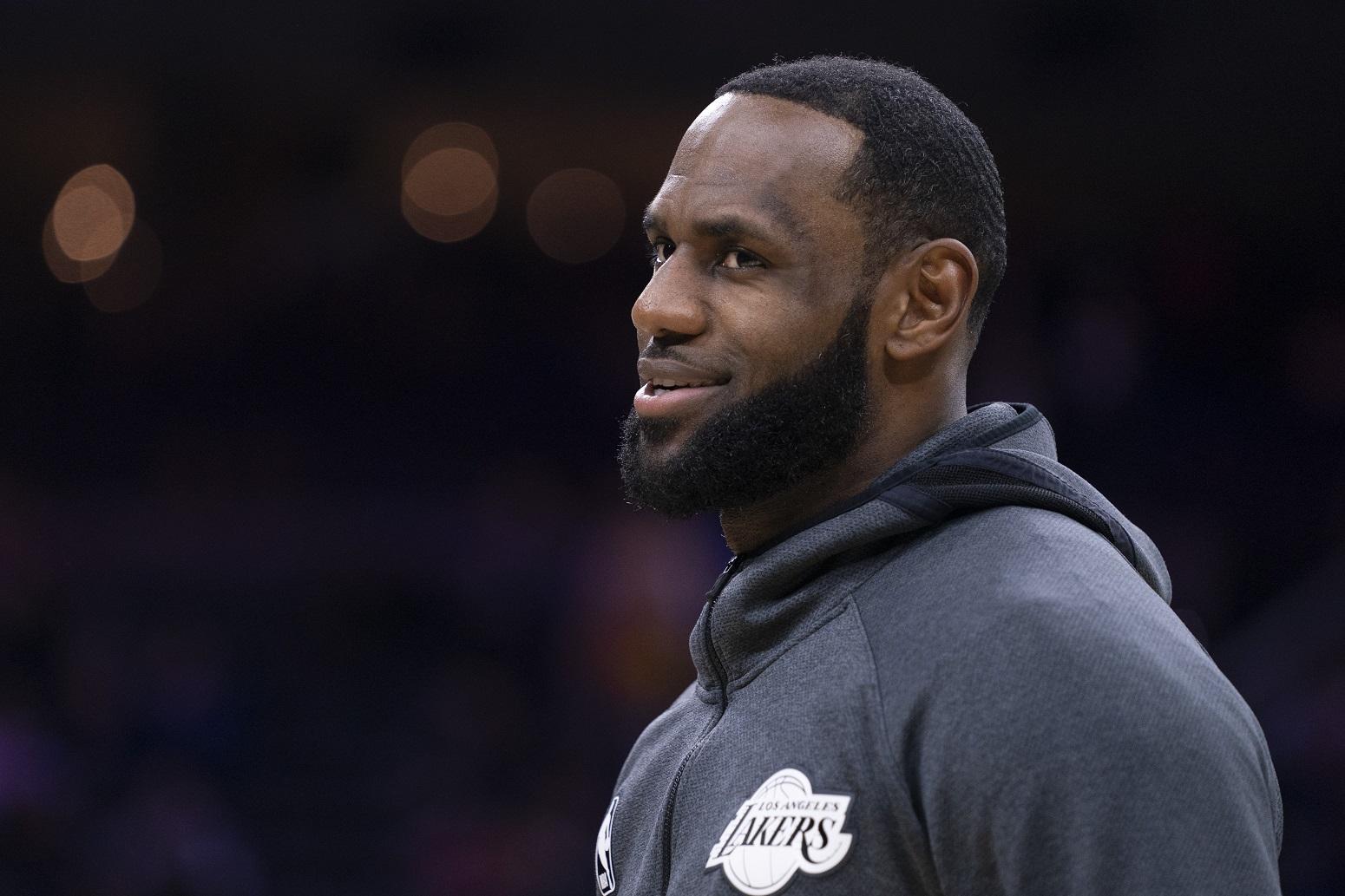 LeBron James explains Lakers repeat champions chances