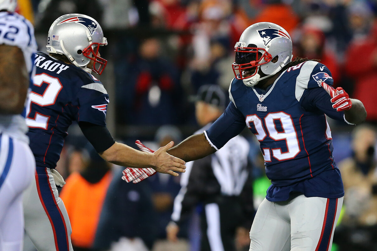 LeGarrette Blount went from an undrafted running back to a prolific touchdown machine. Blount's greatest accomplishment may be rescuing Tom Brady's career.