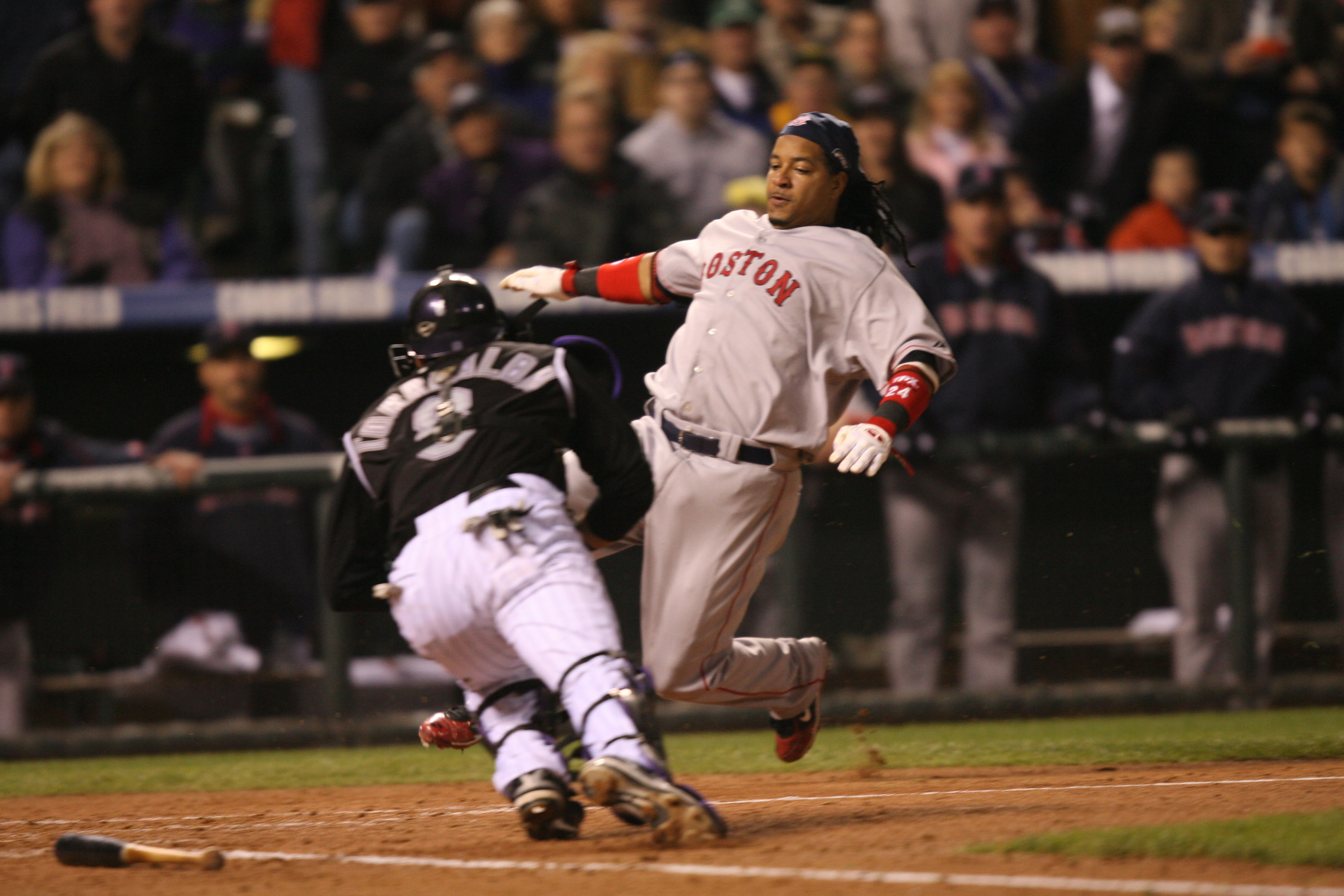 Manny Ramirez was blown off by a so-called Red Sox fan.