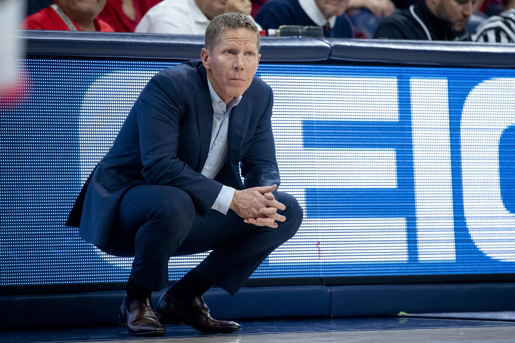 Gonzaga basketball coach Mark Few