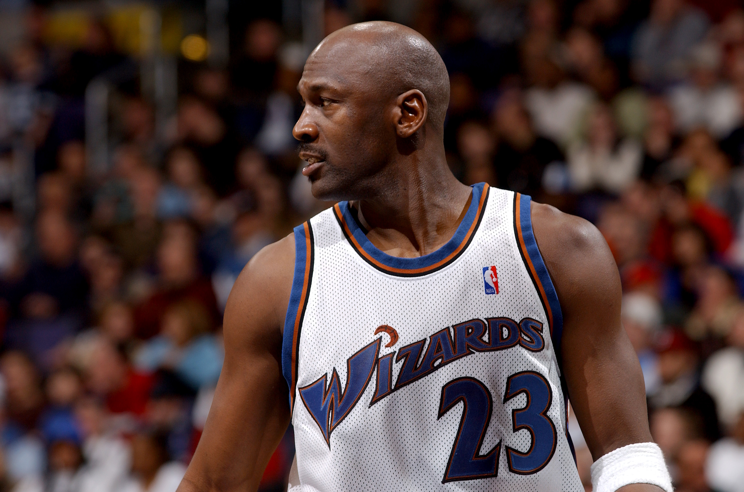 Michael Jordan needed stitches after a bizarre brush with death.