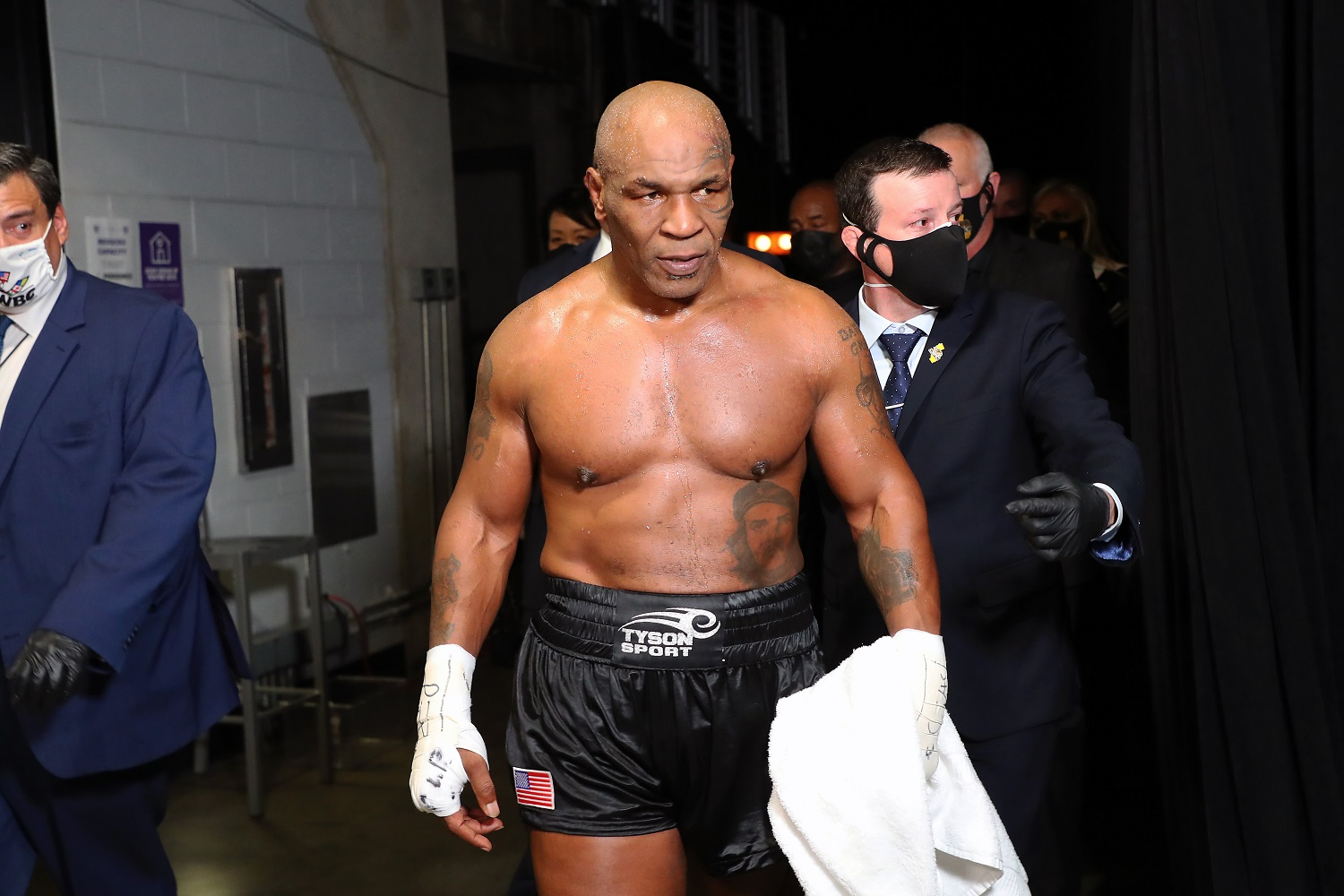 The Man Who Reportedly Attacked Mike Tyson After His Fight With Roy Jones Jr. Has Apparently Caused Problems Before