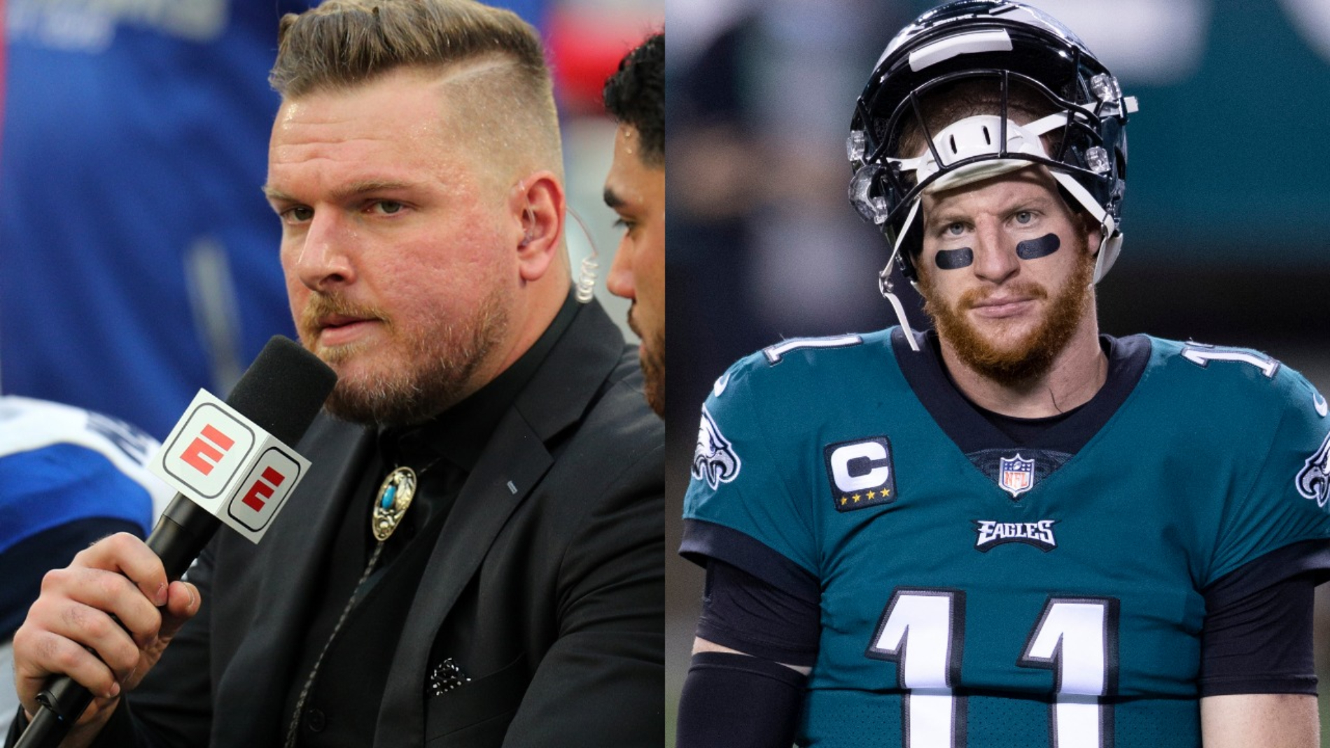 Carson Wentz could be done with the Philadelphia Eagles. However, Pat McAfee really doesn't want him on the Indianapolis Colts.