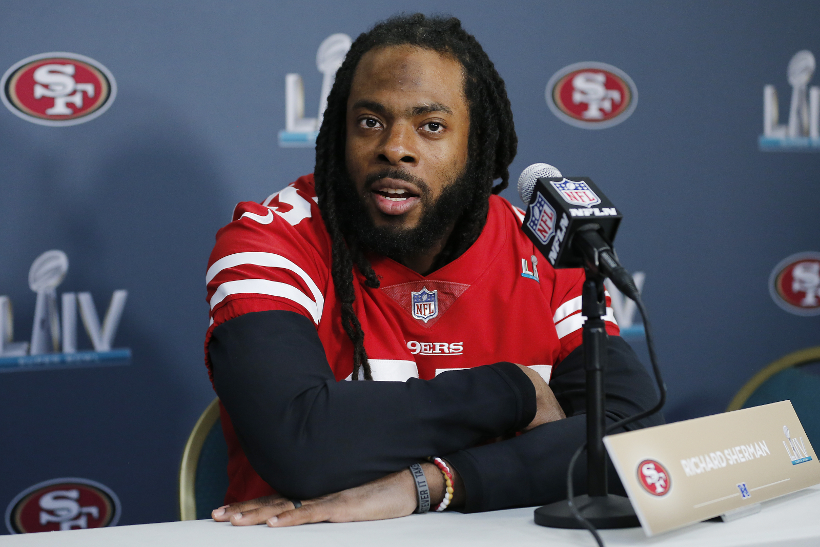 Richard Sherman doesn't know if he will be on the San Francisco 49ers next year, but he has already made enough money to become a team owner.
