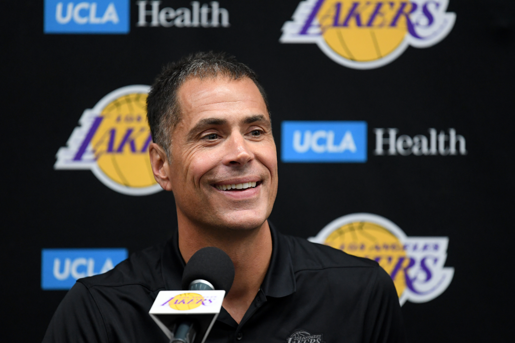 Lakers general manager Rob Pelinka has built a very strong team. He has since used 'The Queen's Gambit' to show how they became the kings.