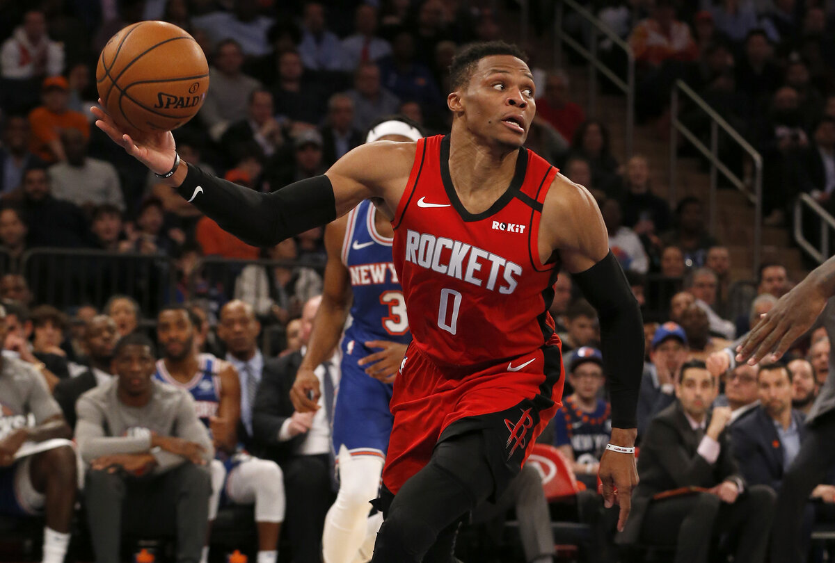 Russell Westbrook has worn No. 0 throughout his entire NBA career, but will wear No. 4 with the Washington Wizards. Why is Westbook changing numbers?