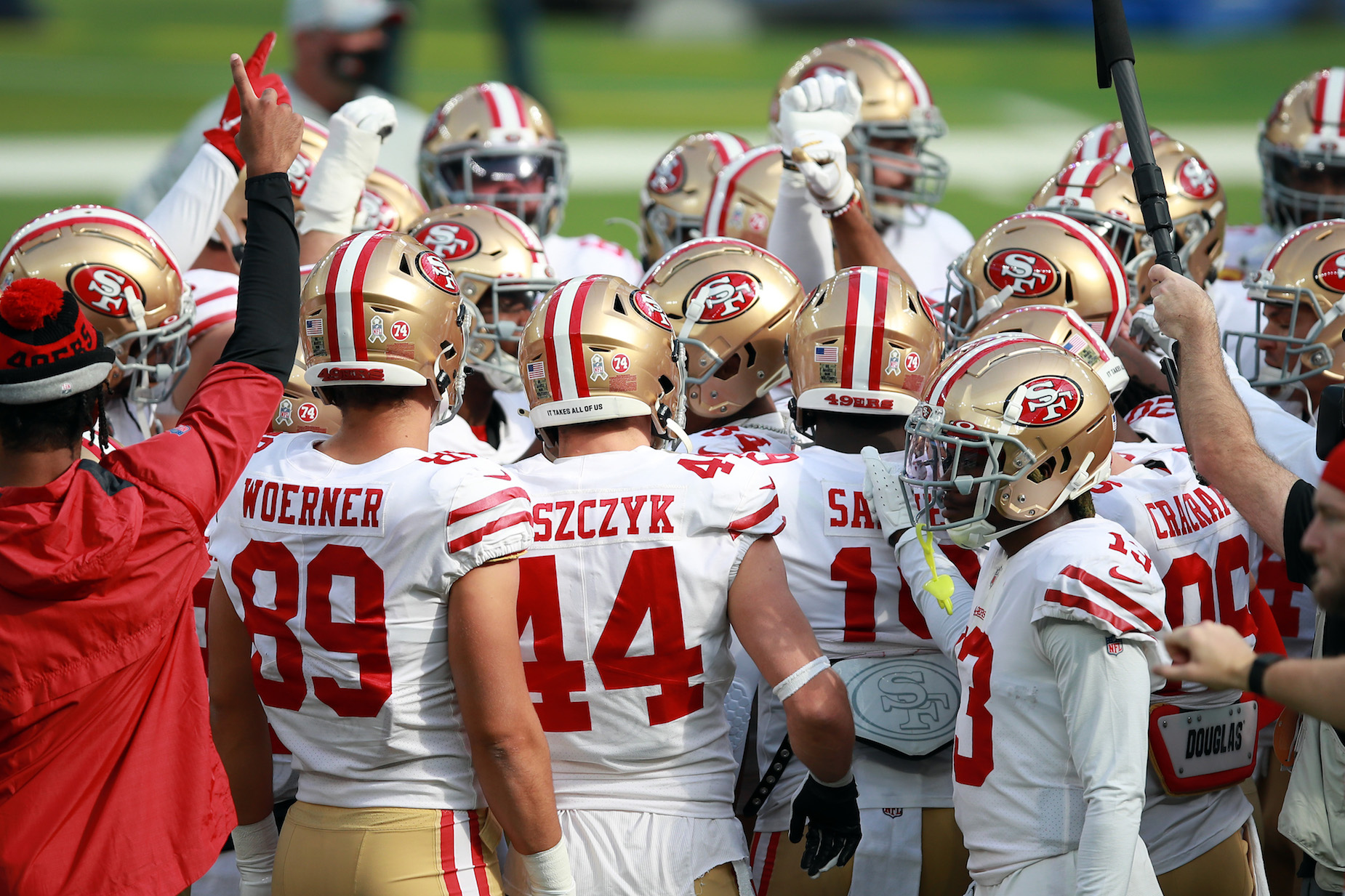 The San Francisco 49ers will be playing their next two home games in Arizona, not San Francisco.