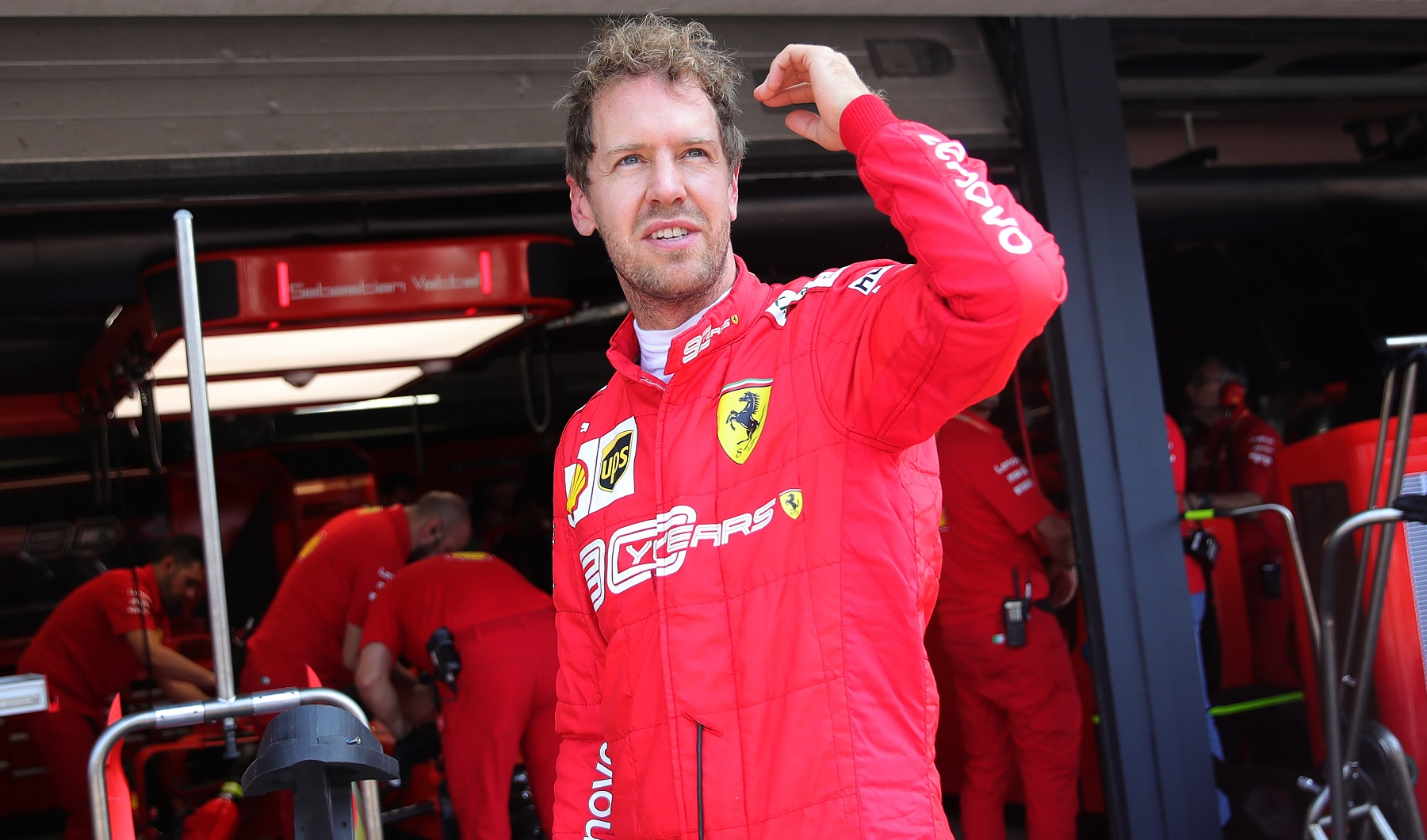 Sebastian Vettel Received Support From an Unlikely Source in His Worst Formula 1 Season