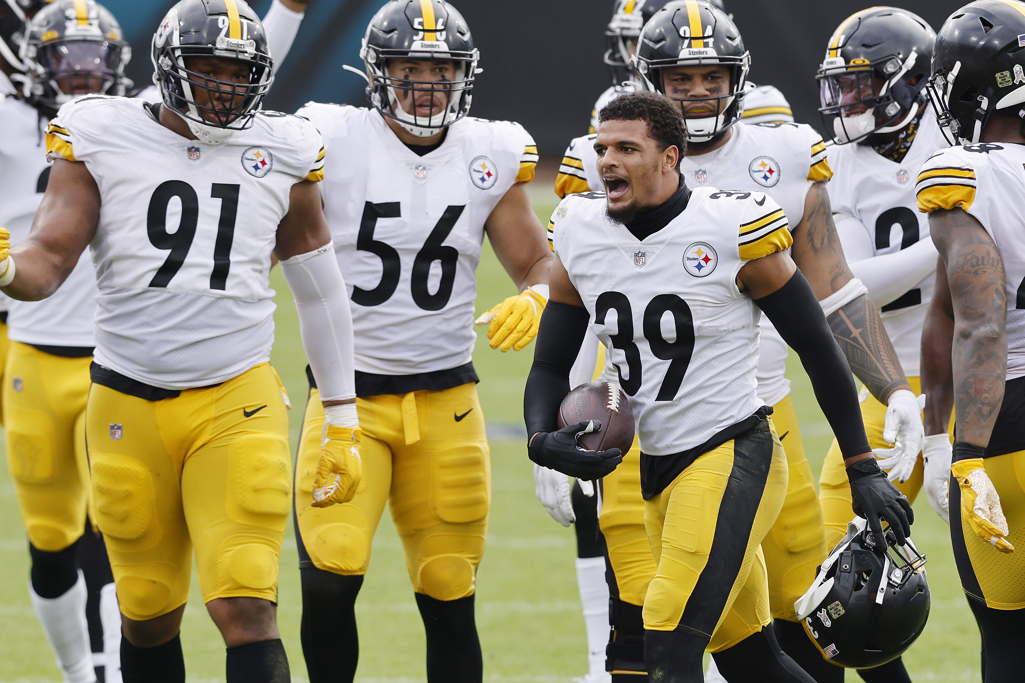 Why are the Pittsburgh Steelers and Baltimore Ravens playing in the afternoon on Wednesday?