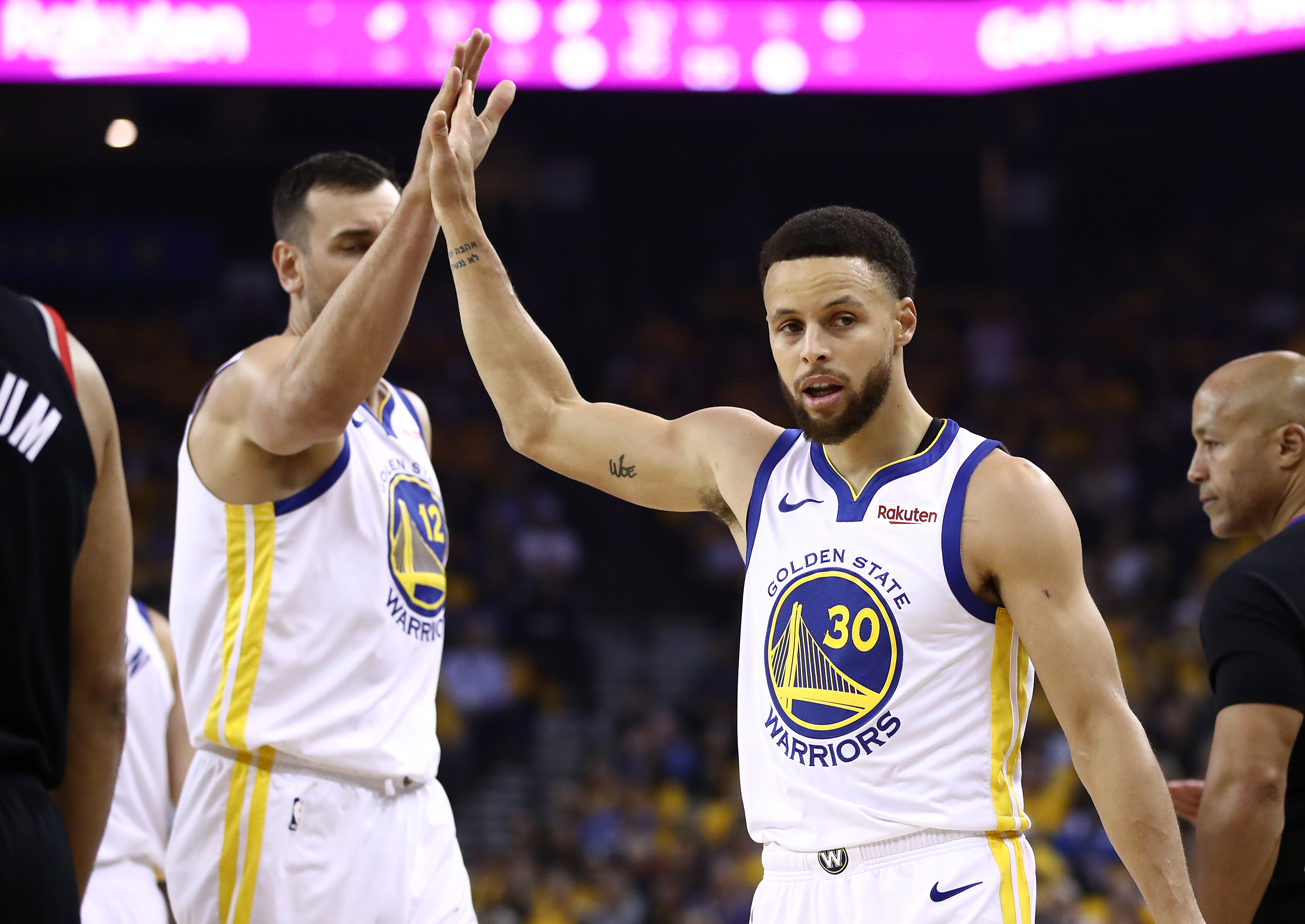 Golden State Warriors guard Steph Curry is ready to spend the rest of his career in California.