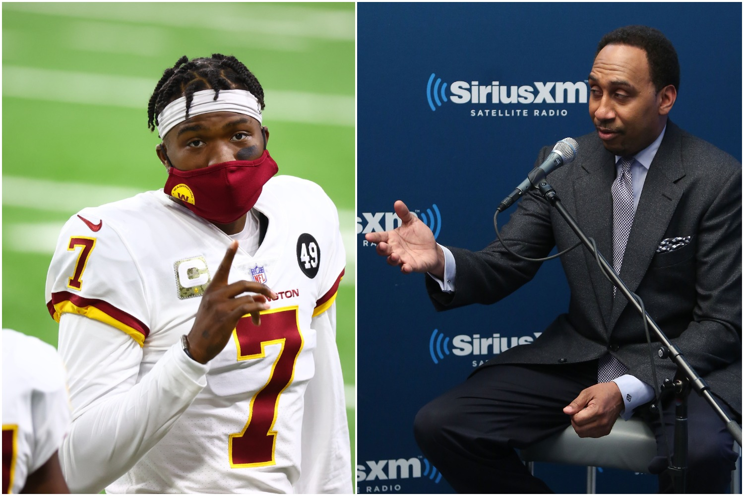 Even though he's on vacation, Stephen A. Smith took to Twitter on Monday afternoon to put former Washington QB Dwayne Haskins on blast.