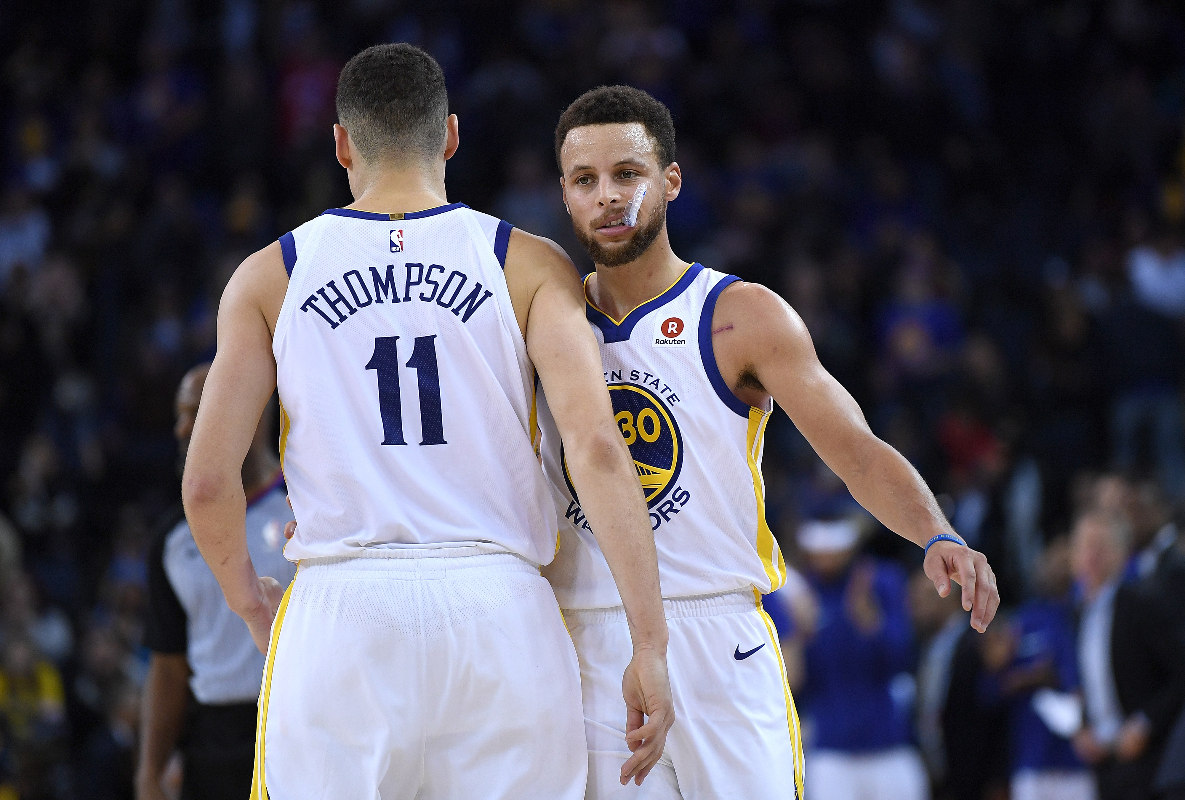 The 'Splash Brothers' reunion between Klay Thompson and Stephen Curry will have to wait until 2021. Curry just sent the injured Thompson a dire message.