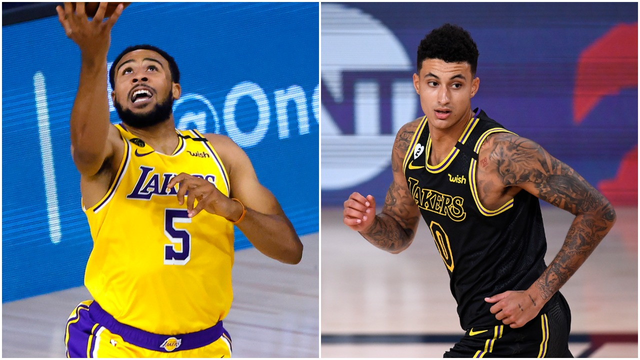 Talen Horton-Tucker Kyle Kuzma Lakers