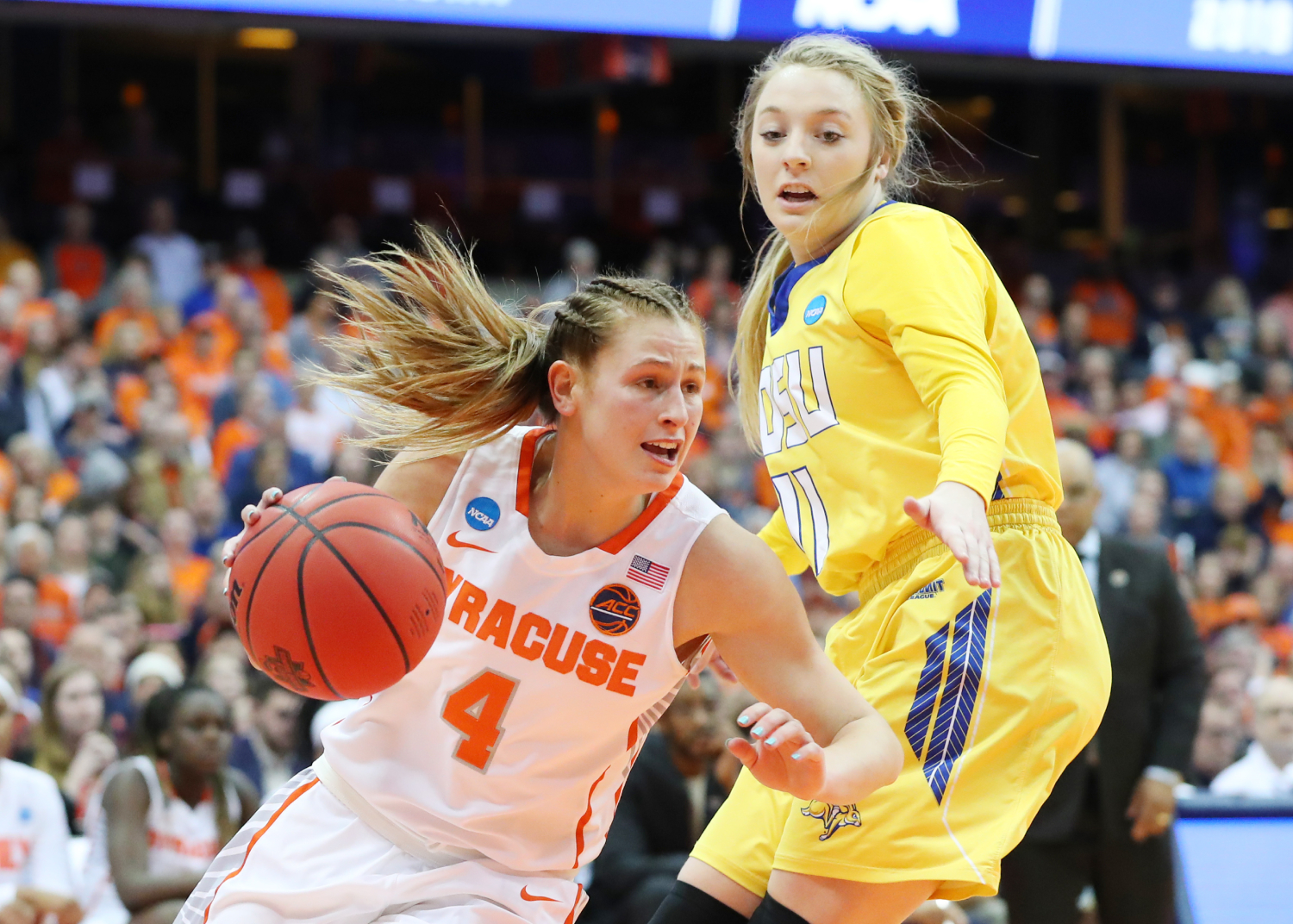 Who is Tina Mangakahia and why is she the true star at Syracuse?