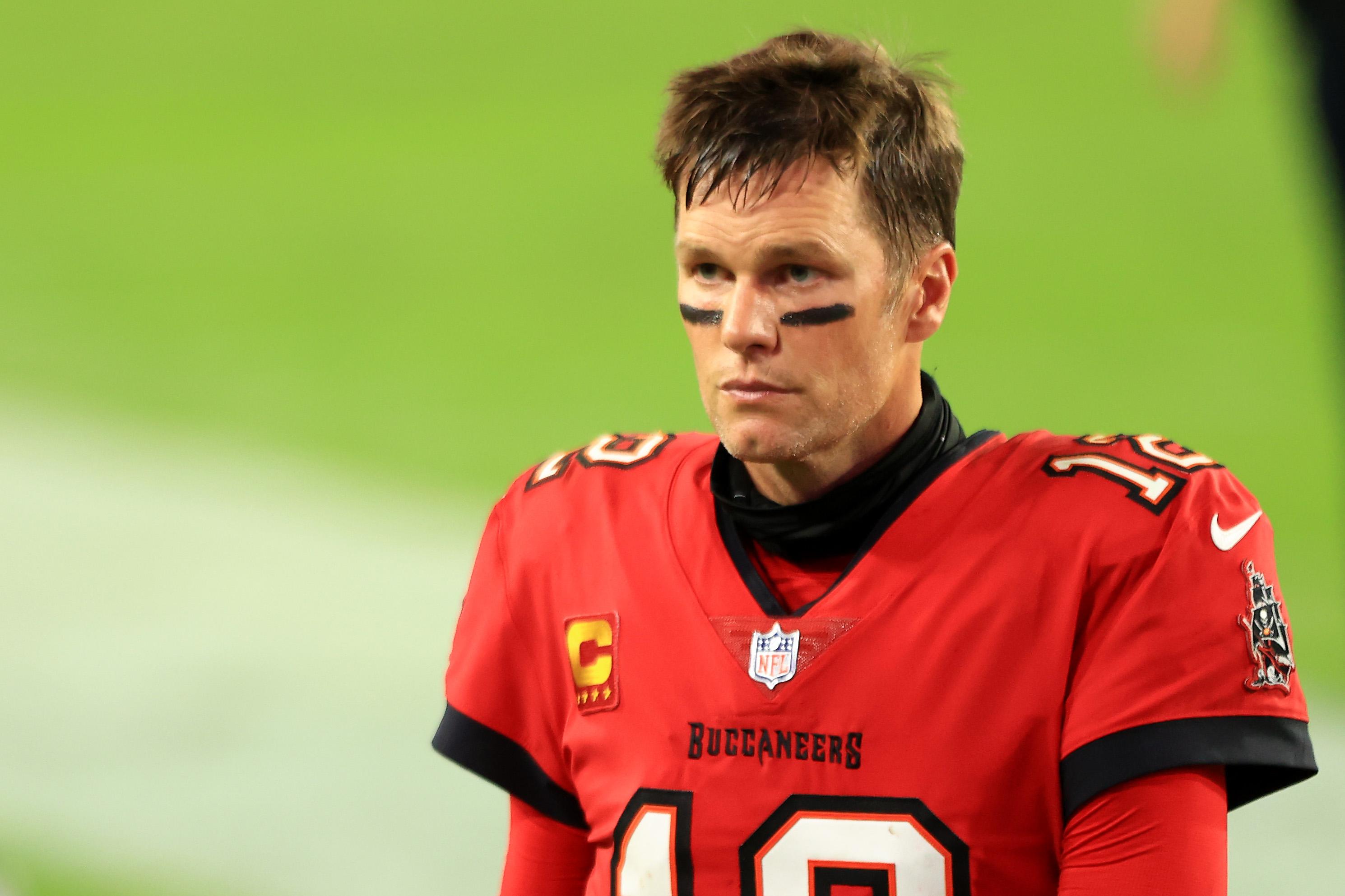 The Bucs QB Tom Brady