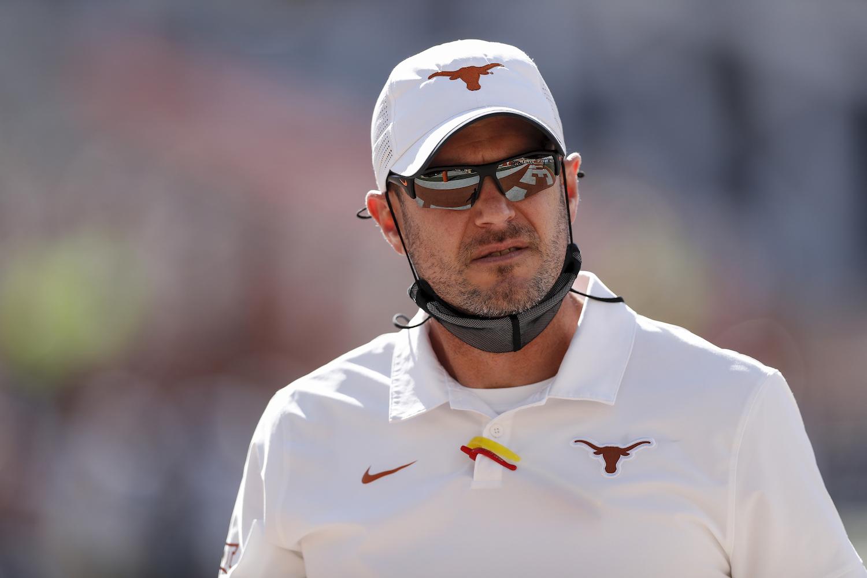 Tom Herman of the Texas Longhorns