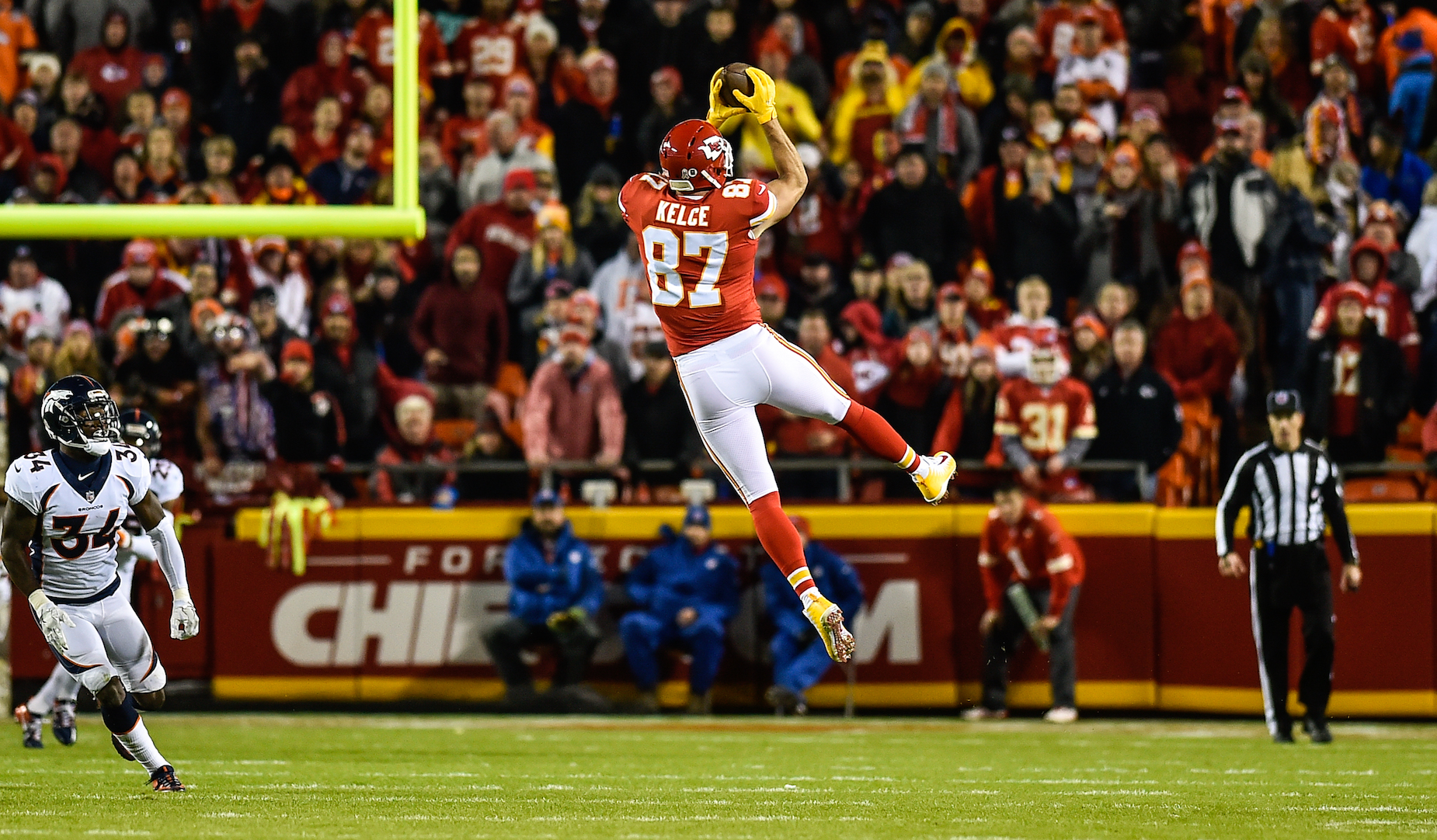 Chiefs tight end Travis Kelce could have ruined his football career with marijuana before his brother stepped in.