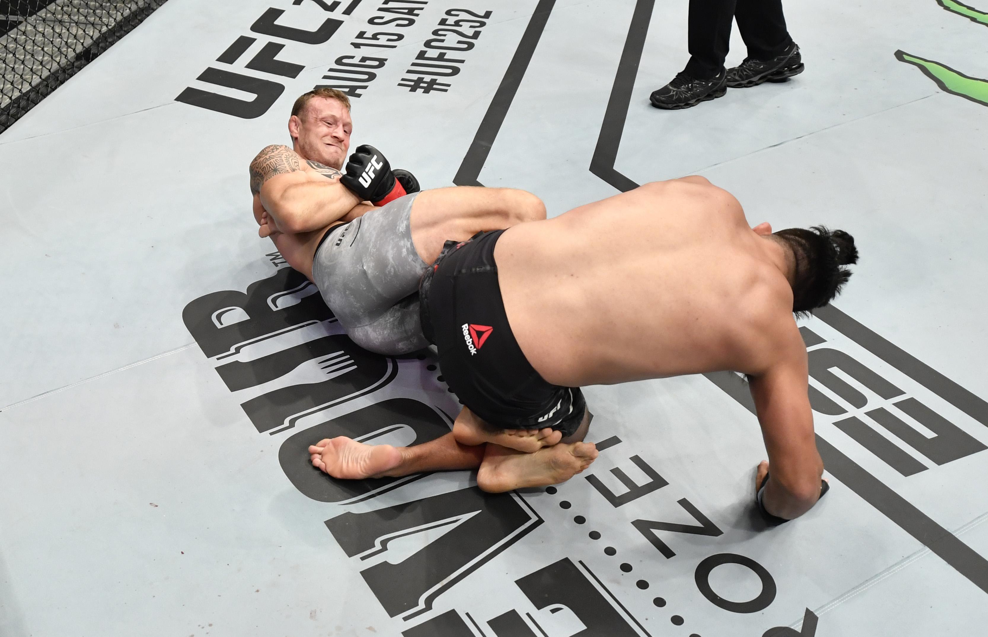 UFC fighter Jack Hermansson of Sweden