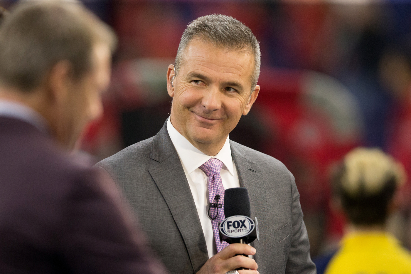 Urban Meyer has become a successful analyst on FOX after having success as a coach at Ohio State and Florida. Could he be done on TV, though?