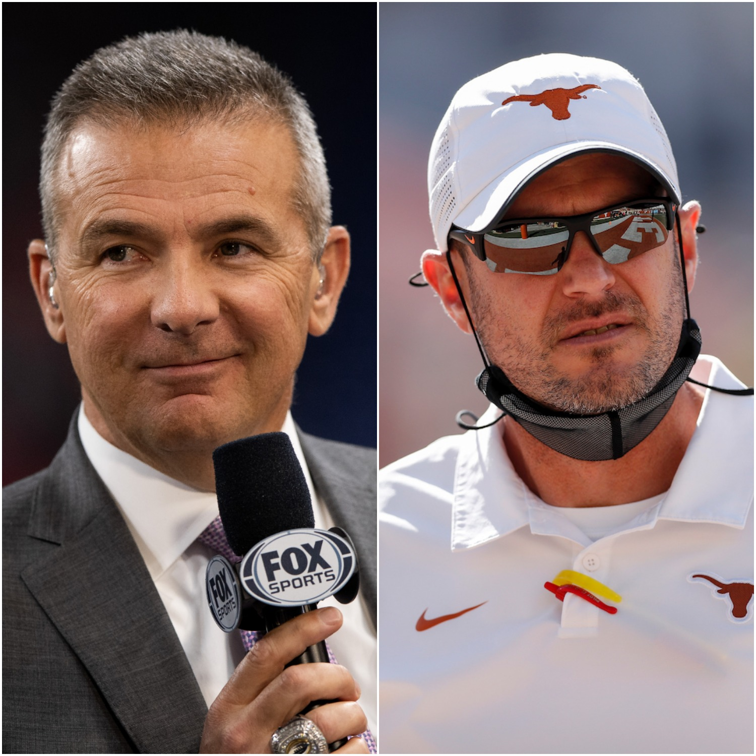 Urban Meyer and Tom Herman and the Texas Longhorns
