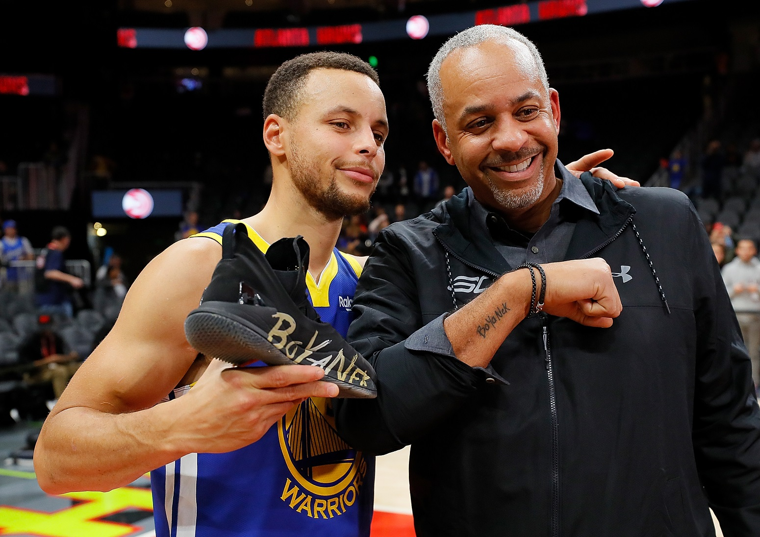 Warriors Stephen Curry Dell Curry powerful life lesson