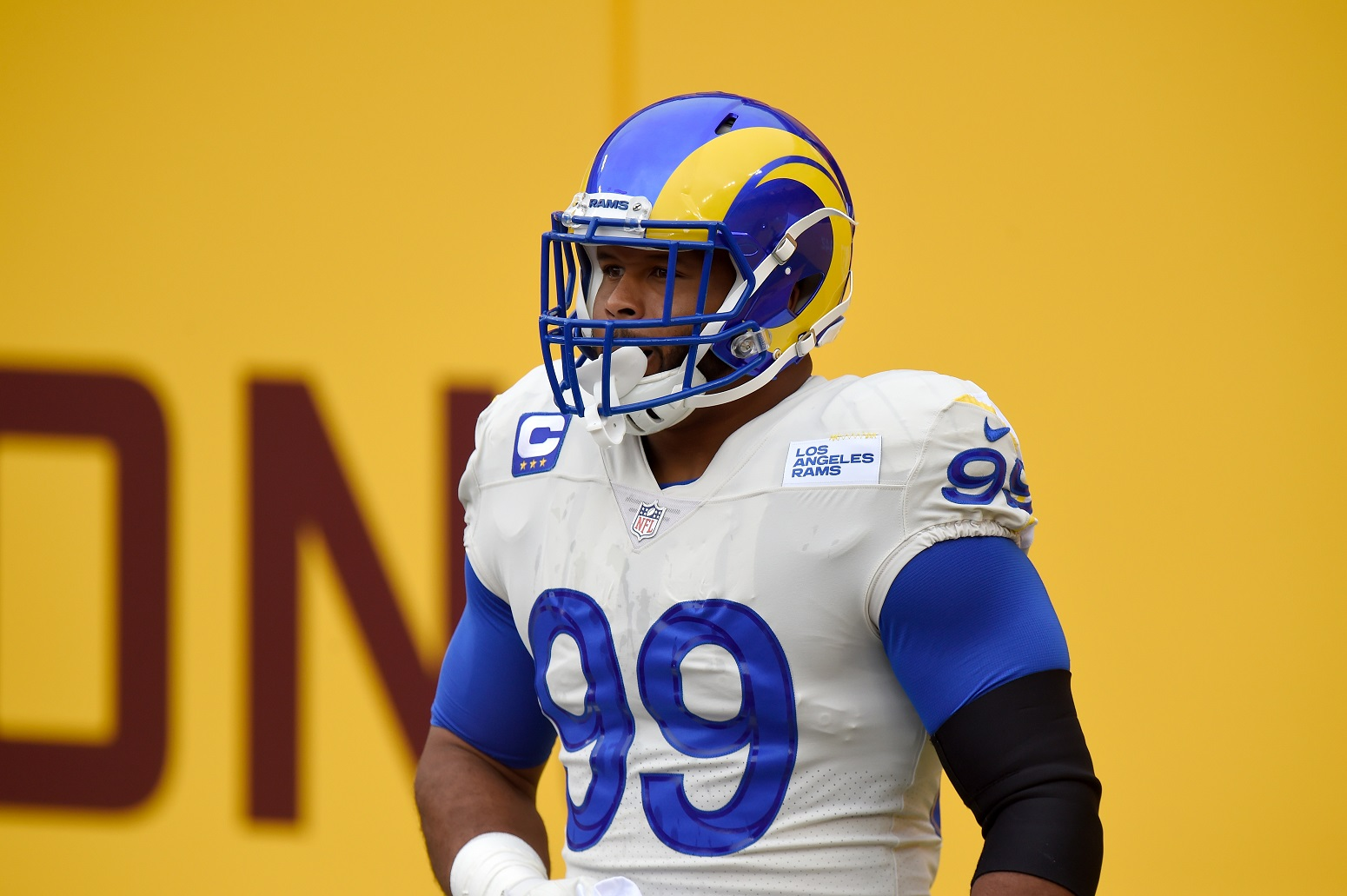 Why Aaron Donald wears No. 99 LA Rams