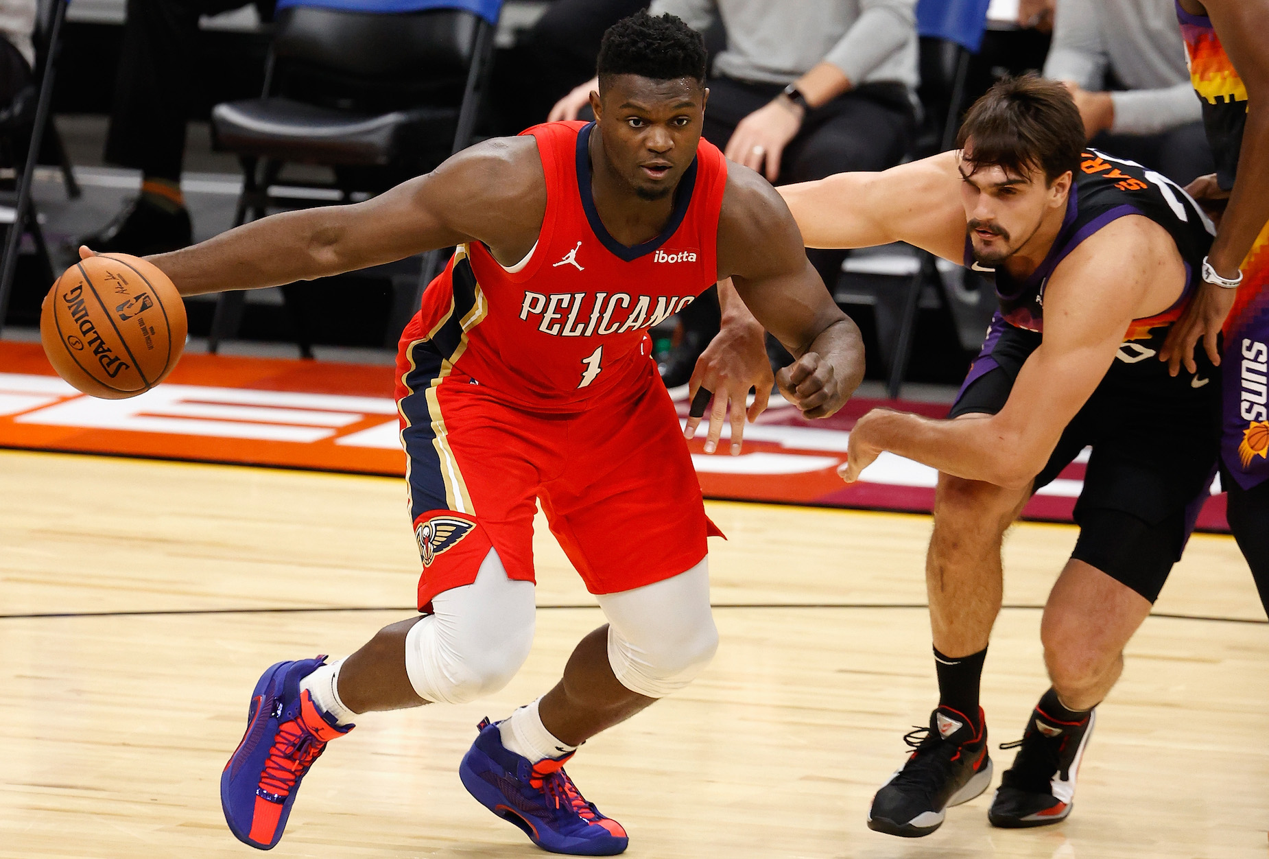 New Orleans Pelicans forward Zion Williamson changed up his diet after a disappointing rookie campaign.