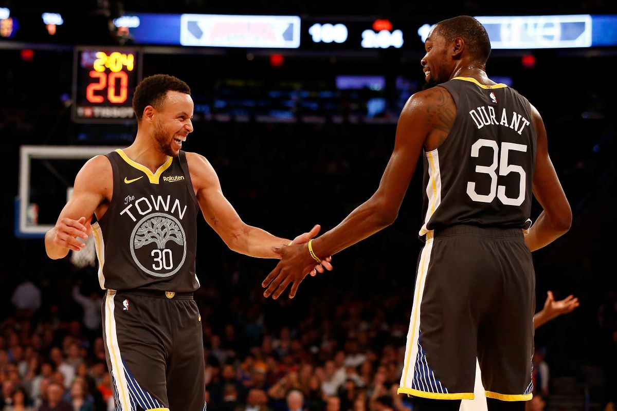 Warriors, Kevin Durant, Stephen Curry