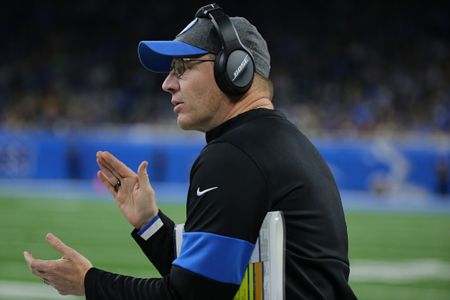 Darrell Bevell is the Lions' interim head coach