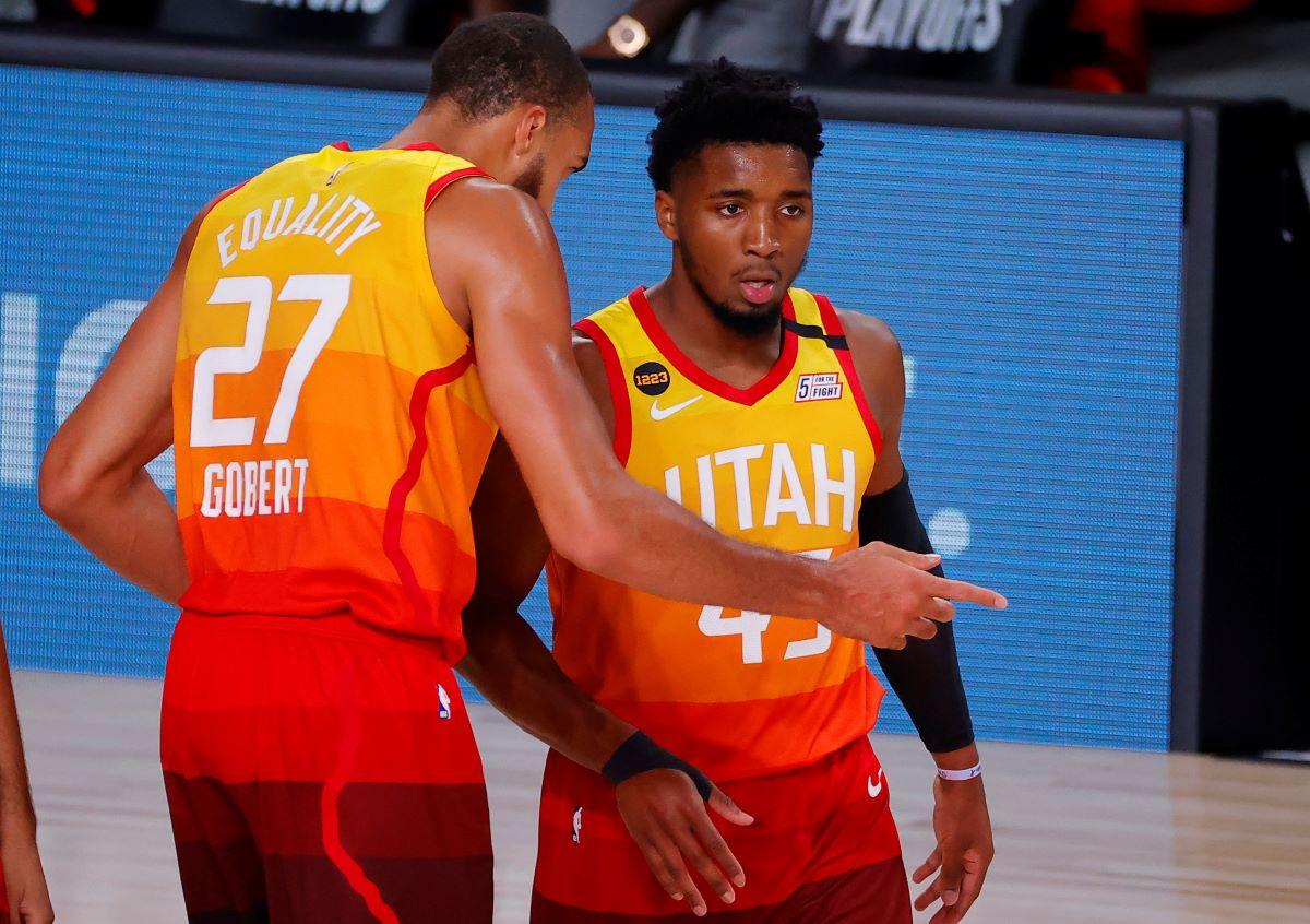 Jazz, Rudy Gobert, Donovan Mitchell