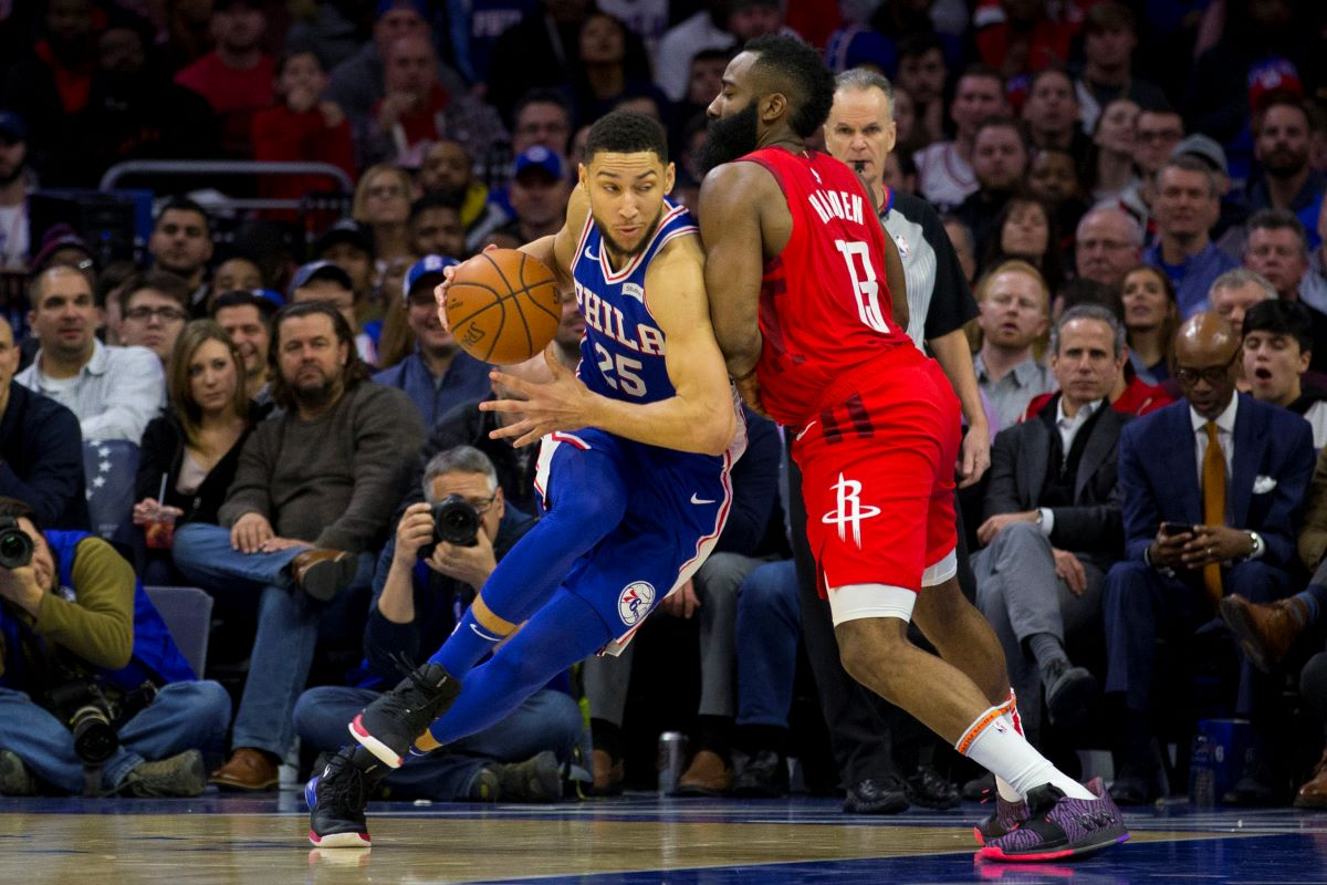 James Harden and Ben Simmons Could Be Traded for Each Other Soon