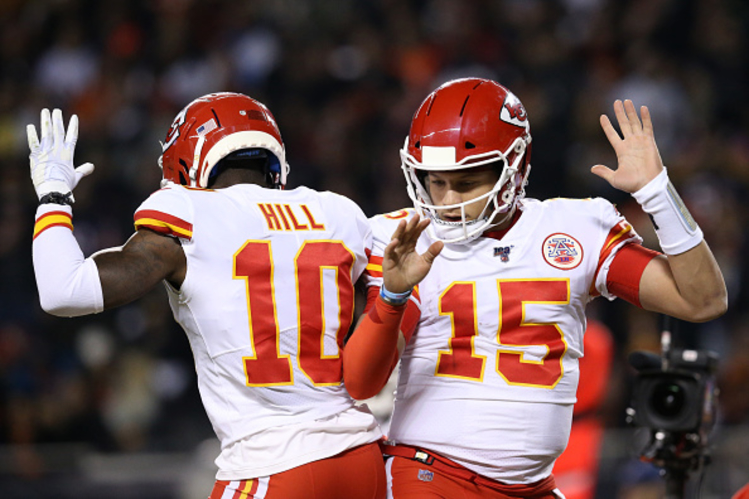 Tyreek Hill Thought Patrick Mahomes 'Was Trash' When The Chiefs Drafted Him