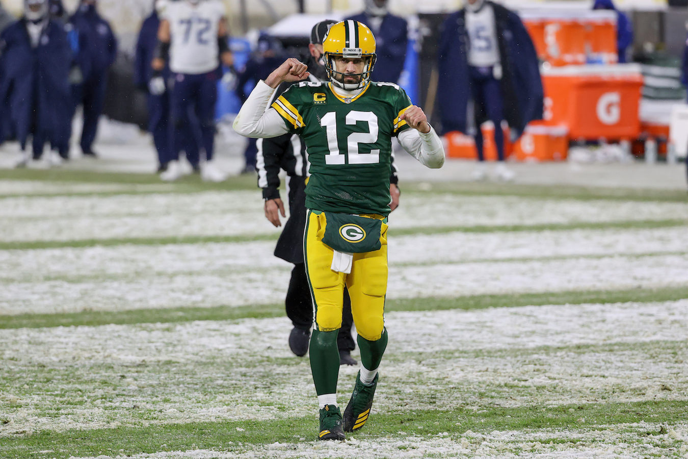 Green Bay Packers quarterback Aaron Rodgers has already earned an award for his 2020 performances.