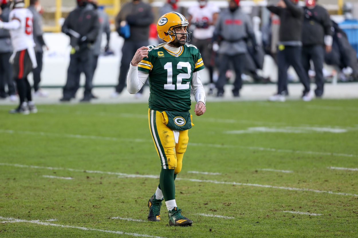 Aaron Rodgers recently made shocking comments about his future with the Packers. He has since clarified those comments with a strong message.