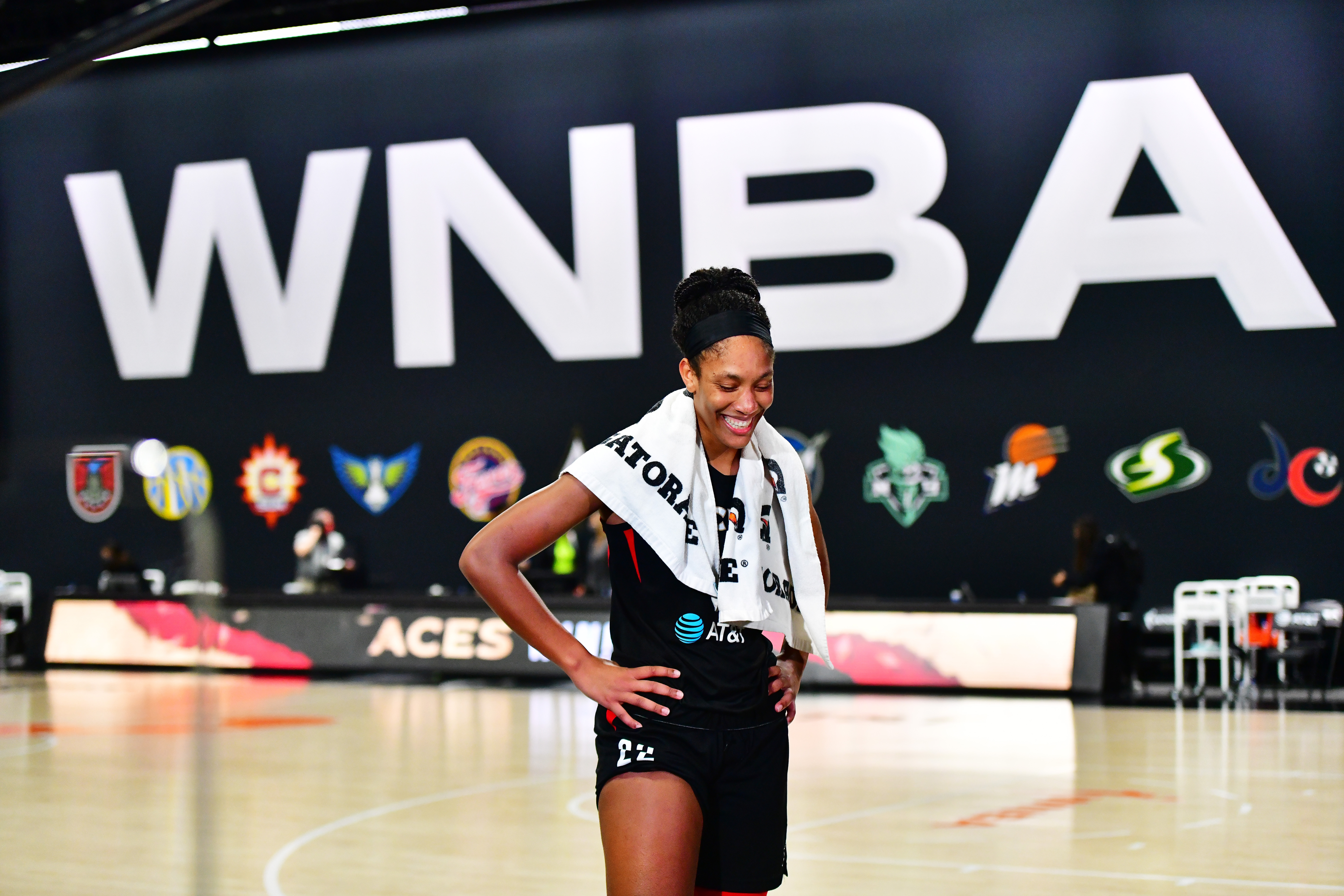 WNBA superstar A'ja Wilson hopes that her most recent accomplishment can serve as inspiration to the generations coming behind her.