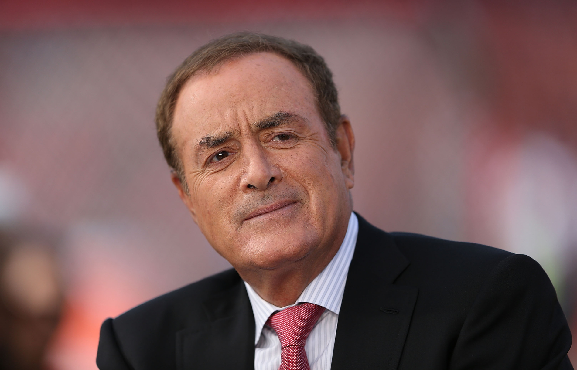 Al Michaels has covered many big sporting events. However, one year at the Super Bowl he had to be ready for terrorists to invade his booth.