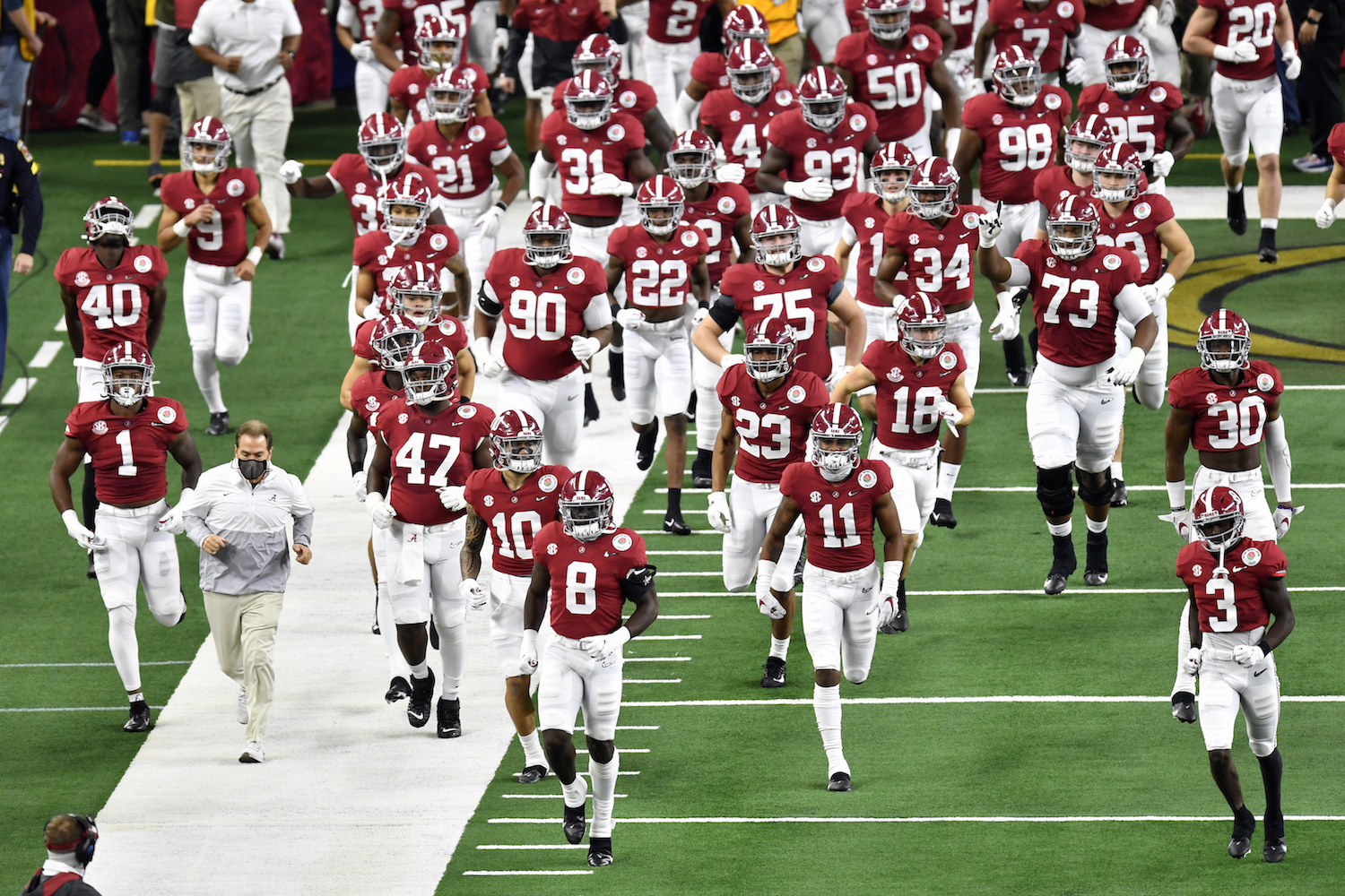 AHow did the Alabama Crimson Tide get their colorful name?