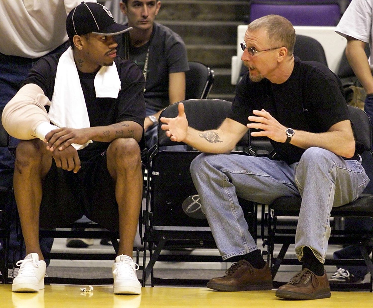 Former 76ers owner Pat Croce was forced to fire his own brother after he committed a petty crime against Allen Iverson