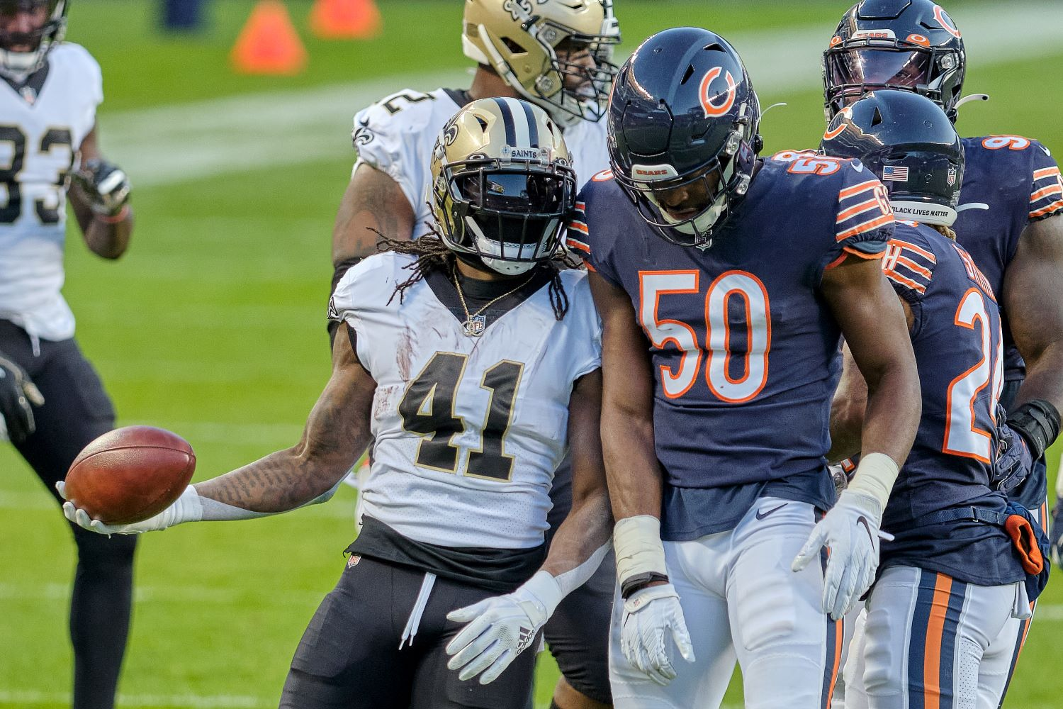 Alvin Kamara only needed three words to send a chilling warning to the Chicago Bears. Will the Saints emerge victorious on Sunday?