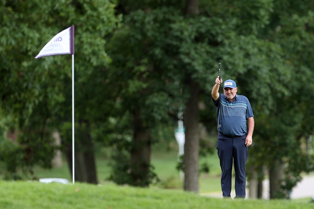 Argentine golfer Angel Cabrera