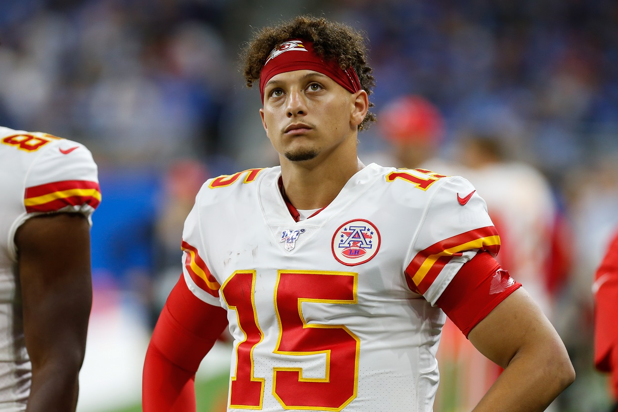 Angry Patrick Mahomes Chiefs NFL huge mistake