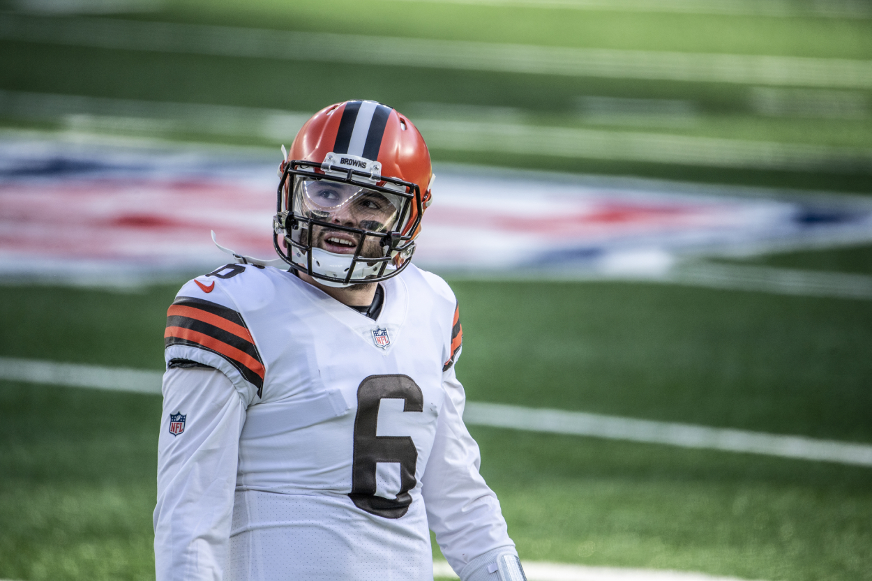 Baker Mayfield Fires Shot at Cleveland Browns Fans in Stern One-Sentence Tweet