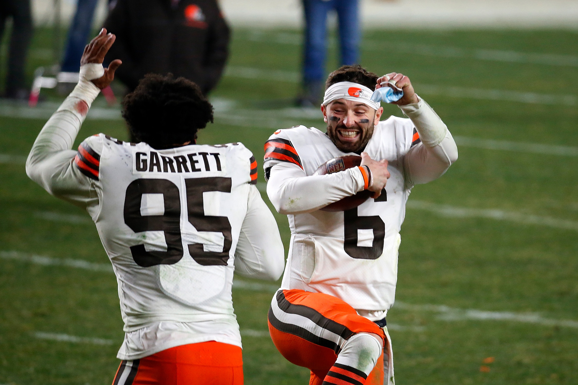 Baker Mayfield and the Cleveland Browns Mercilessly Trolled JuJu Smith-Schuster After Embarrassing the Steelers