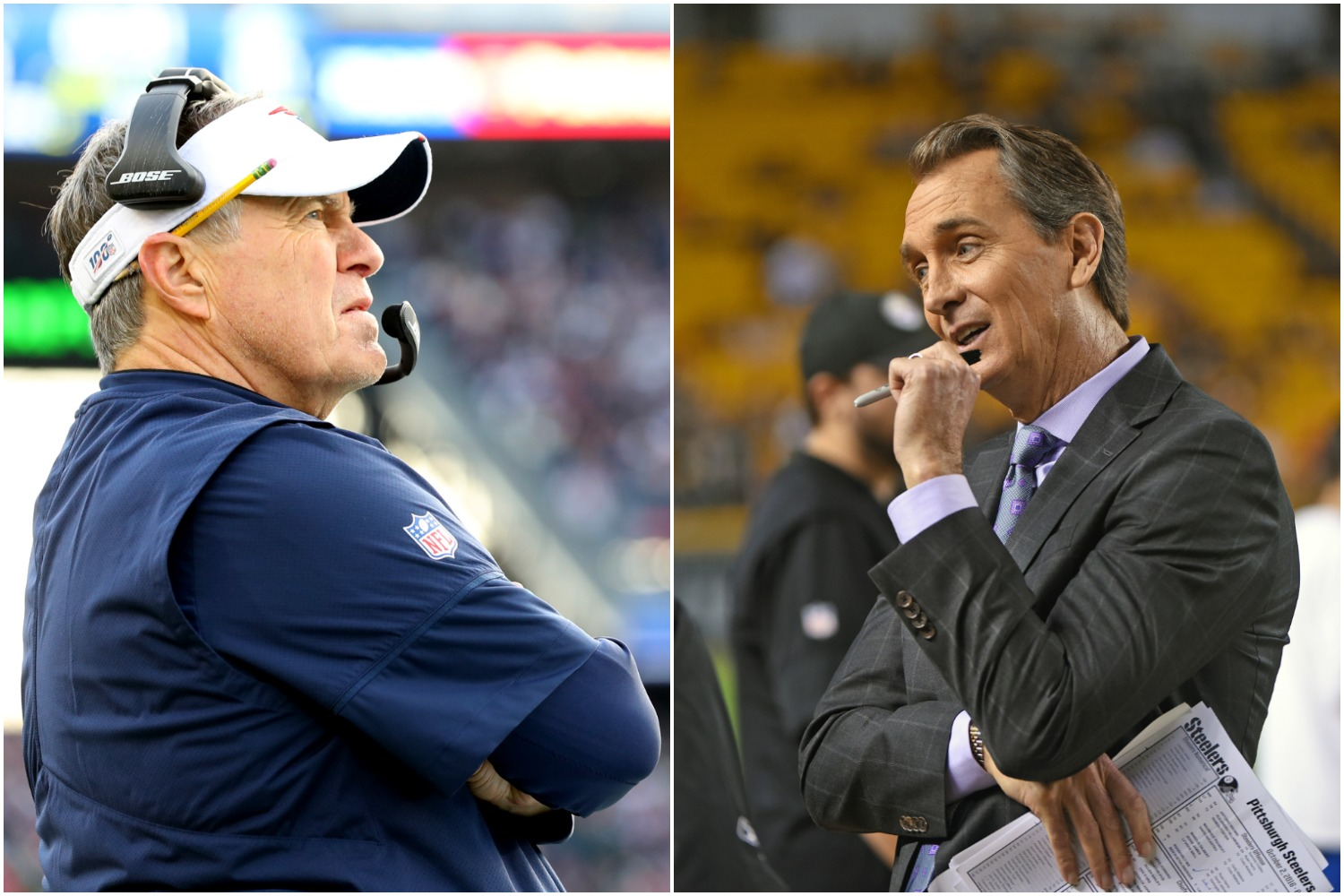 Cris Collinsworth has a star quarterback in mind who he believes would be an ideal fit for Bill Belichick and the New England Patriots.
