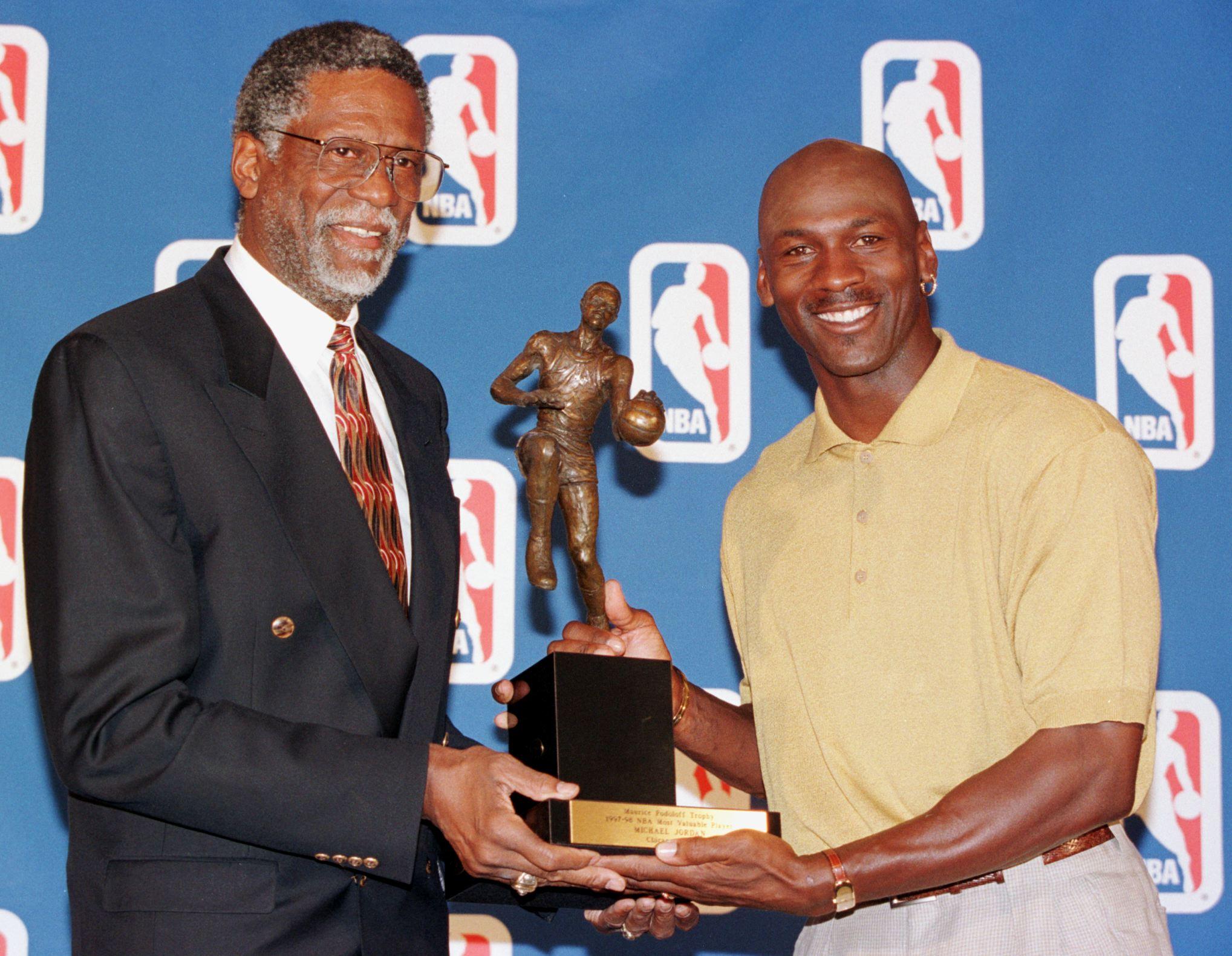 Bill Russell Michael Jordan