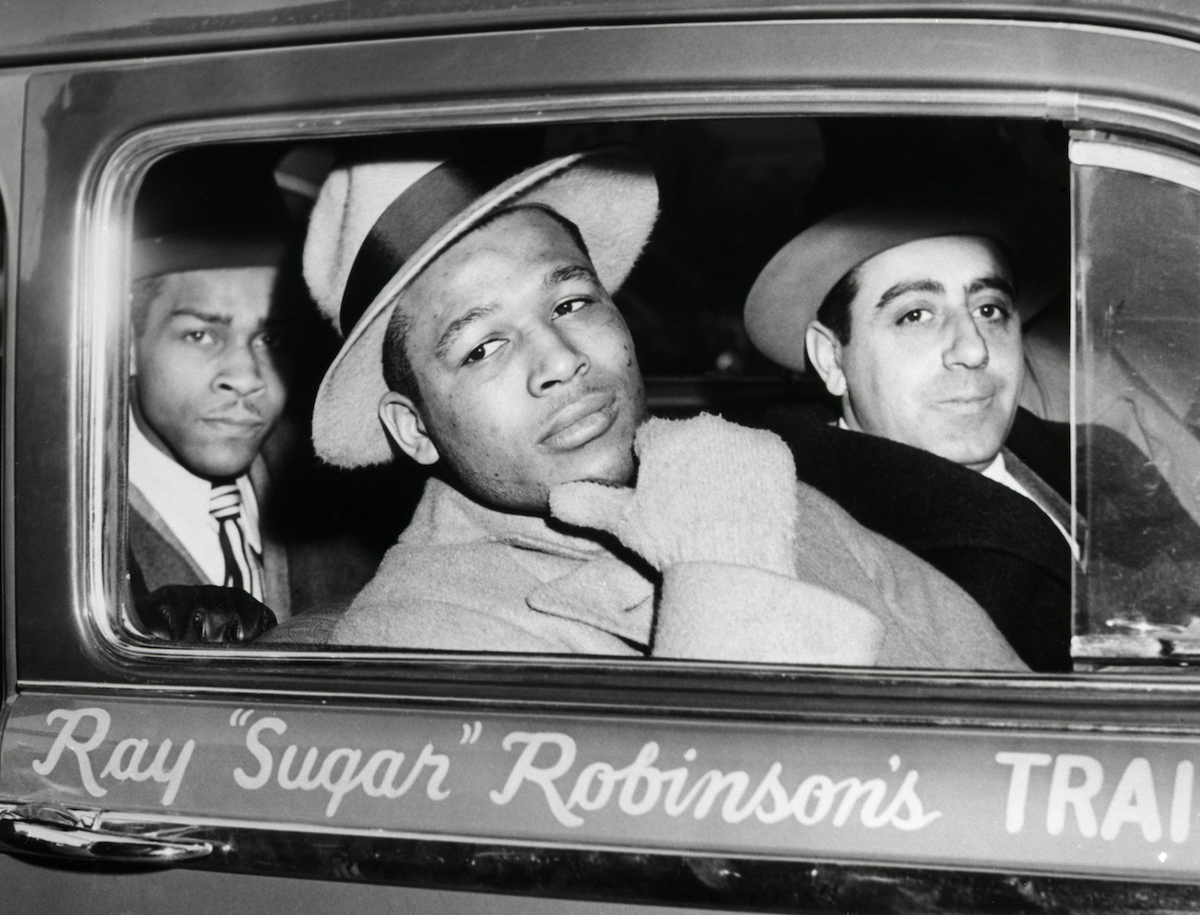 Sugar Ray Robinson Faked His Age Using His Friend's Birth Certificate So He Could Box
