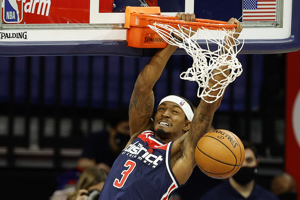Bradley Beal has had a stellar career for the Washington Wizards. Beal has come a long way since walking to school with Nelly, the Grammy-winning rapper.