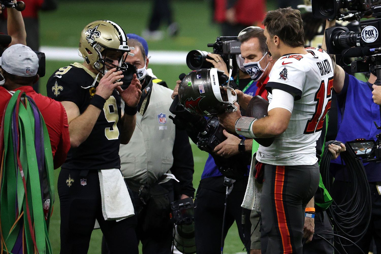 The Buccaneers officially owe Tom Brady $1.25 million thanks to Drew Brees delivering an absolutely horrific performance for the Saints.