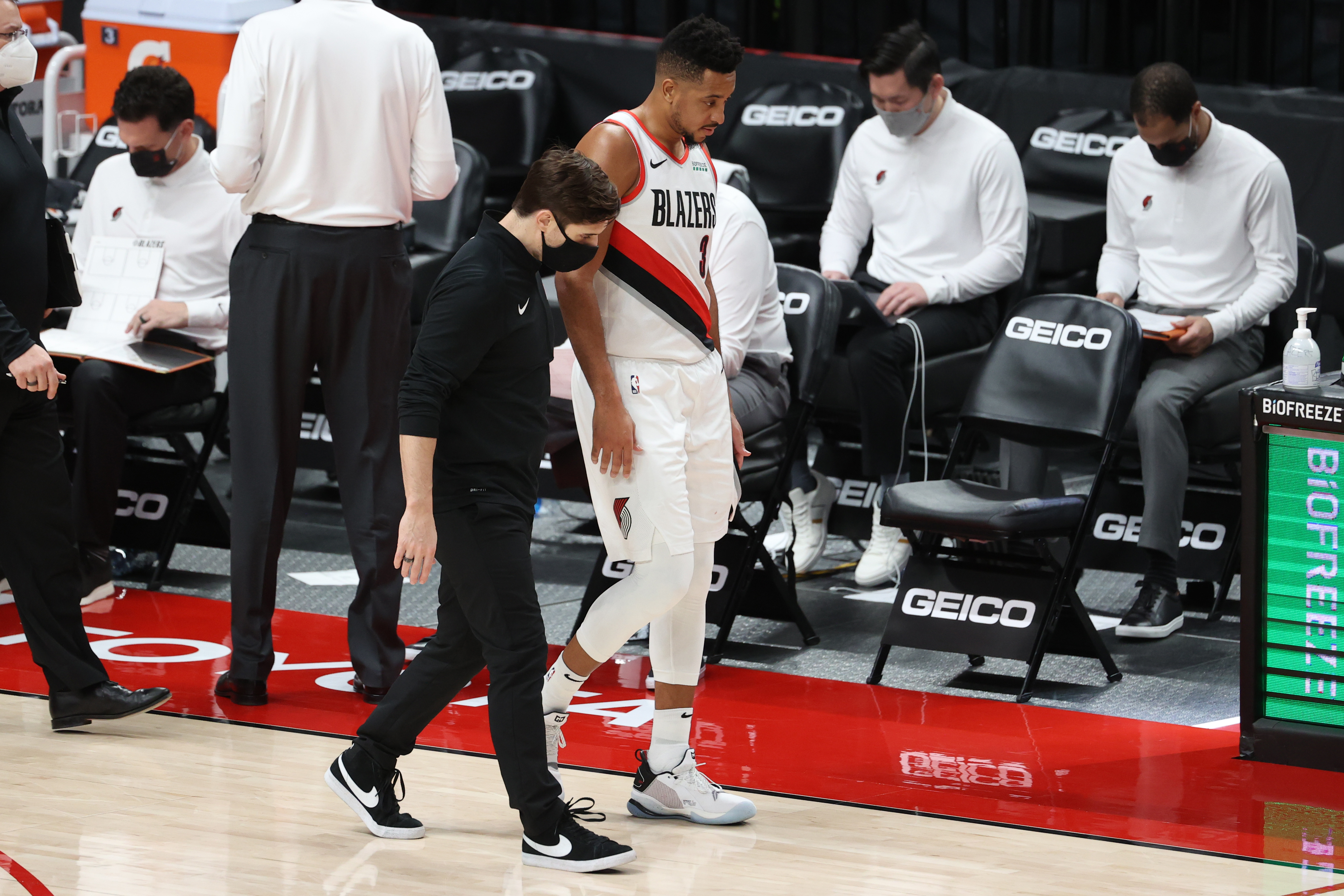 Portland Trail Blazer's guard CJ McCollum will be out for an extended period of time after further testing revealed a serious injury.